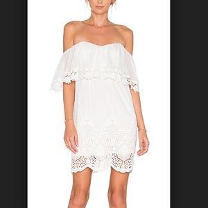 Lucy Paris Ophelia Lace Dress White S